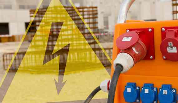 Baustromversorgung-Leistung
