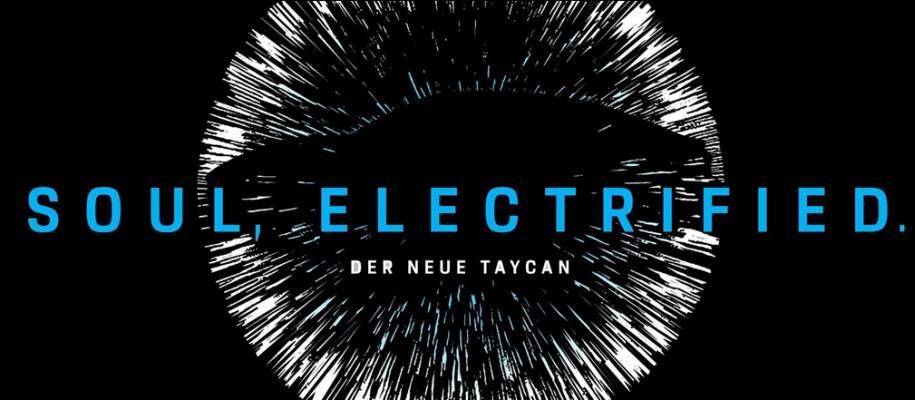 Soul, Electrified - Premiere des neuen vollelektrischen Porsche TAYCAN